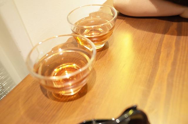 これがかき氷のお茶