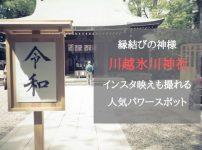 縁結びの神様で有名な「川越氷川神社」はインスタ映えも撮れる人気パワースポット!