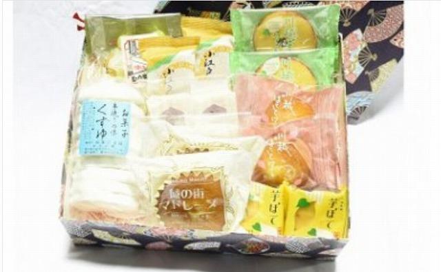 菓子屋横丁セレクション&川越銘菓セット