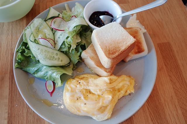 cafeオーマチのエッグ&トースト