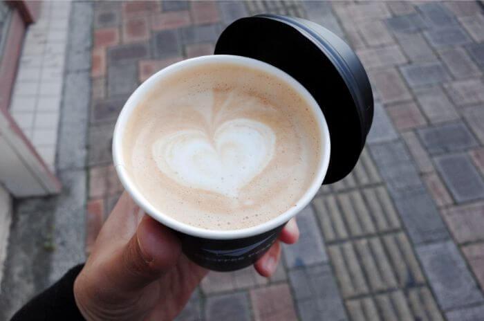 COFFEE POSTのカフェラテ